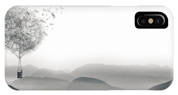 To Fly Only For A Moment IPhone Case