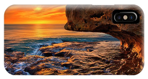 To God Be The Glory - Sunrise Over Ocean Reef Park On Singer Island Florida IPhone Case