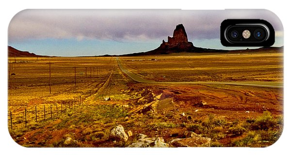 Navajo Land At Sunset IPhone Case