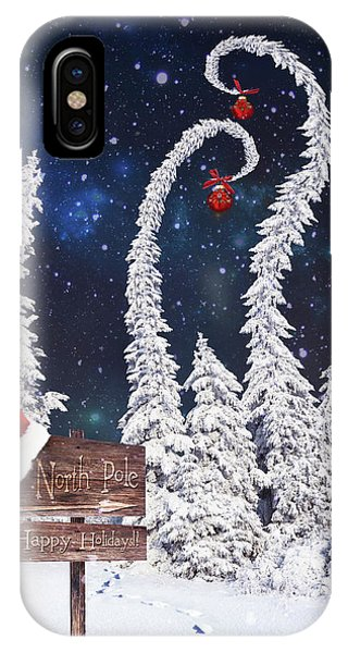 To The North Pole IPhone Case