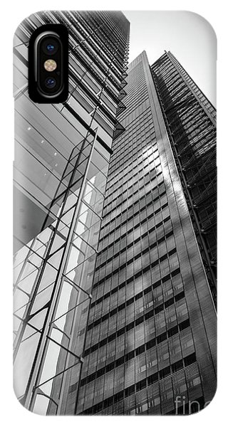 To The Top   -27870-bw IPhone Case