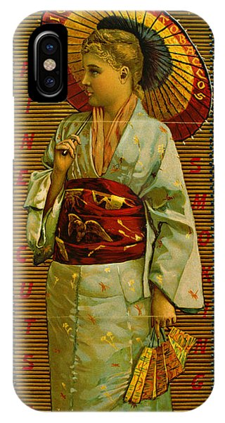 Lillie iPhone Case - Tobacco Ad 1884 by Padre Art