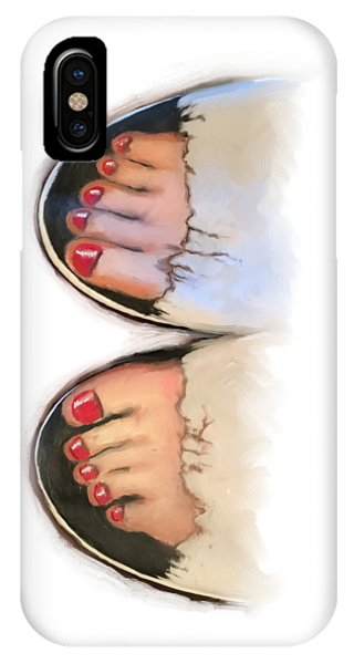 Toes 01 IPhone Case