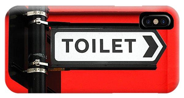 Toilet iPhone Case - Toilet by Osvaldo Hamer