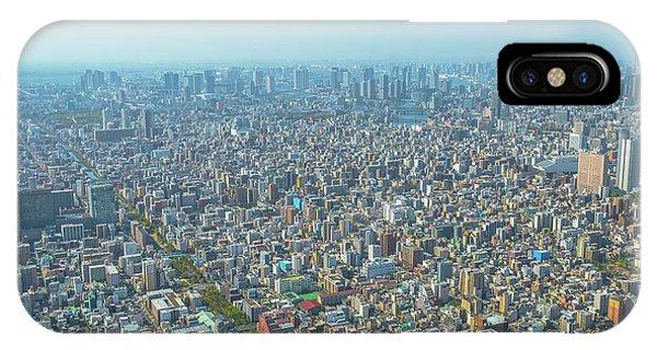 Odaiba iPhone Case - Tokyo And Odaiba Skyline by Benny Marty