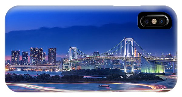 Odaiba iPhone Case - Tokyo Bay by Duane Walker