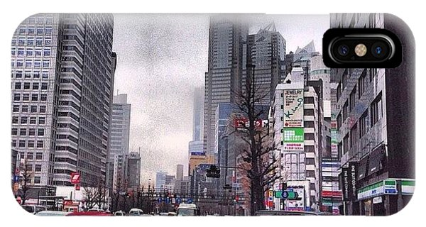 iPhone Case - Tokyo Cloudy by Moto Moto