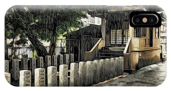 Tokyo In The Rain IPhone Case