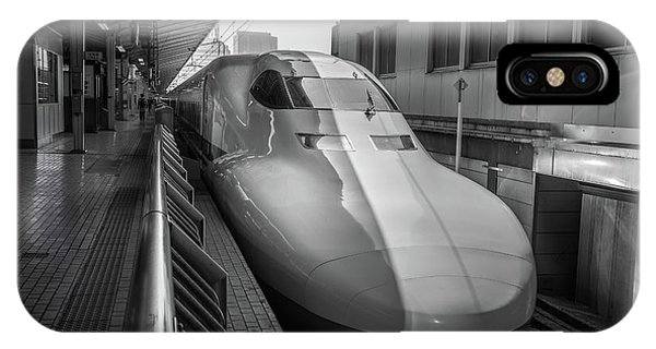 Tokyo To Kyoto Bullet Train, Japan 3 IPhone Case