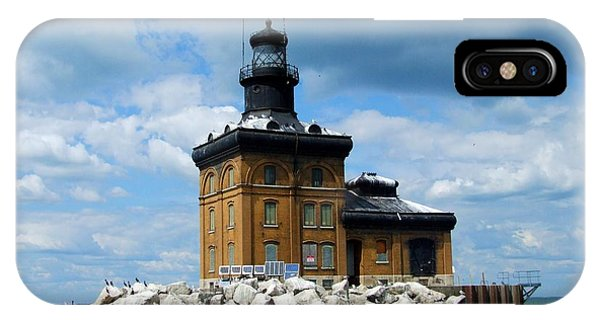 Toledo Harbor Lighthouse IPhone Case