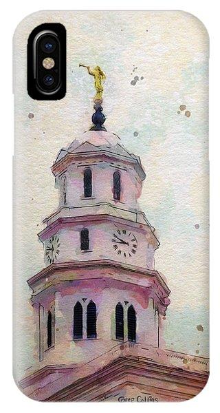 Tollel Maja IPhone Case