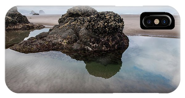 Tolovana Beach At Low Tide IPhone Case