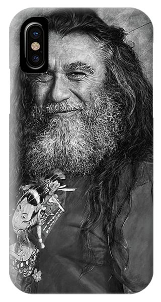 Tom Araya 2 IPhone Case