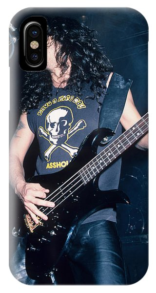 Tom Araya Of Slayer IPhone Case