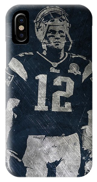 Tom Brady Patriots 4 IPhone Case