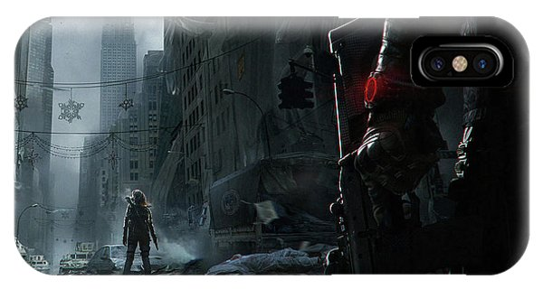 iPhone Case - Tom Clancy's The Division by Eloisa Mannion