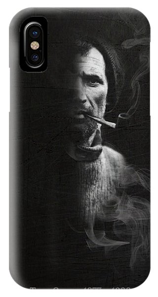 Tom Crean Antarctic Explorer - Dated Portrait IPhone Case