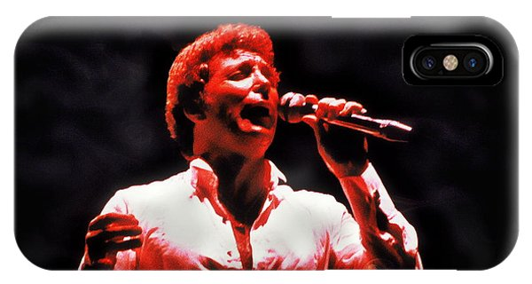 Tom Jones In Concert IPhone Case