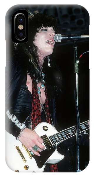 Tom Keifer Of Cinderella IPhone Case
