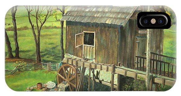 Tom Lott's Mill In Georgia IPhone Case