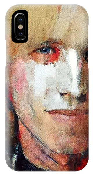 Tribute iPhone Case - Tom Petty Tribute Portrait 3 by Yury Malkov