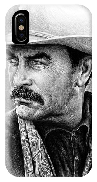 Tom Selleck As Monty Walsh IPhone Case