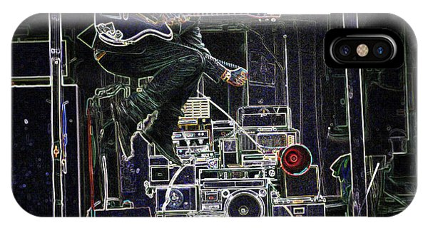 Tom Waits Jamming IPhone Case