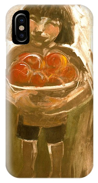Tomato Girl IPhone Case
