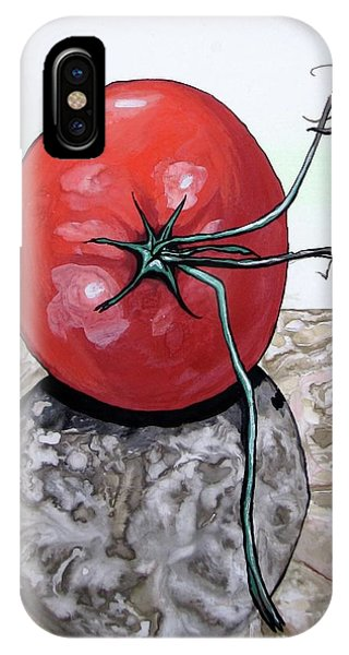 Tomato On Marble IPhone Case
