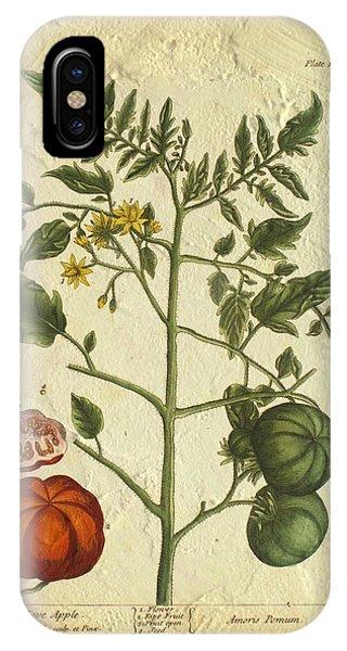 Tomato Plant Vintage Botanical IPhone Case