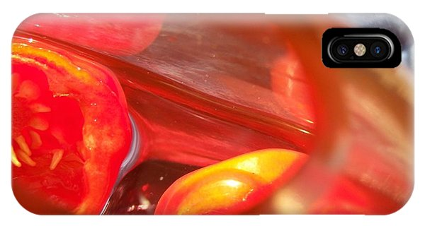 IPhone Case featuring the photograph Tomatoe Red by Richard Ricci