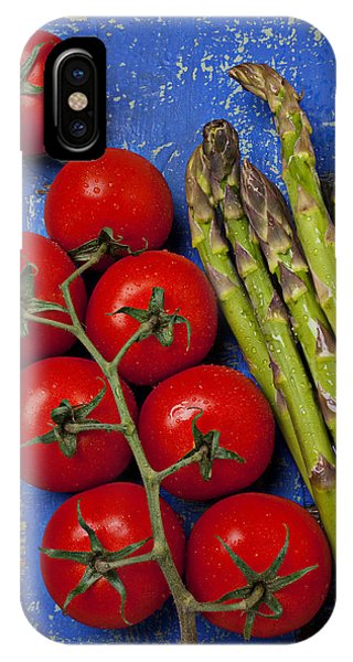 Tomatoes And Asparagus  IPhone Case