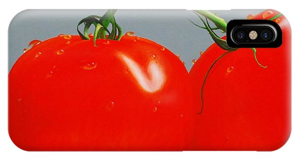 Tomatoes With Stems IPhone Case