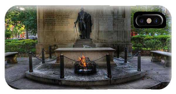Tomb Of The Unknown Revolutionary War Soldier - George Washington  IPhone Case