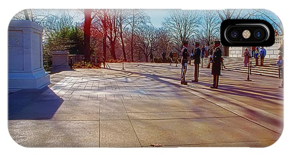 Tomb Of The Unknowns IPhone Case