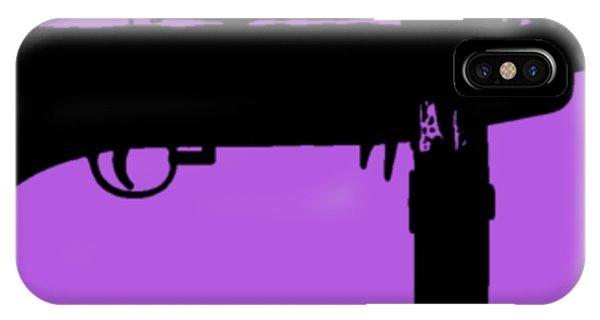 Weapons iPhone Case - Tommy Gun Tee by Edward Fielding
