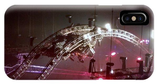 Tommy Lee Motley Crue Farewell Tour Brooklyn N Y 2015 Or Flying Drums IPhone Case