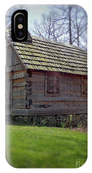 Tom's Country Church And School IPhone Case