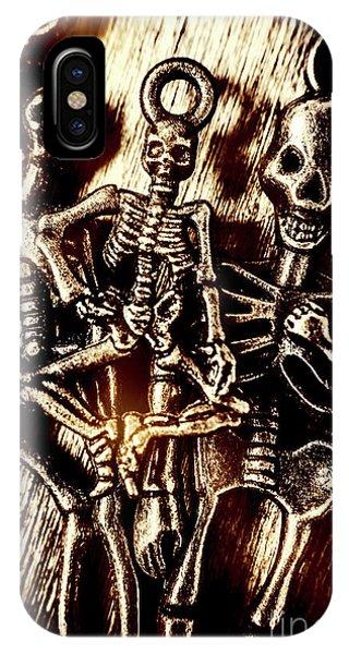 Anatomy iPhone Case - Tones Of Halloween Horror by Jorgo Photography - Wall Art Gallery