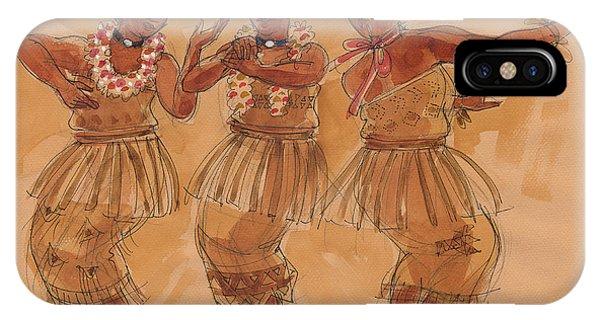 Tonga Dance From Niuafo'ou IPhone Case