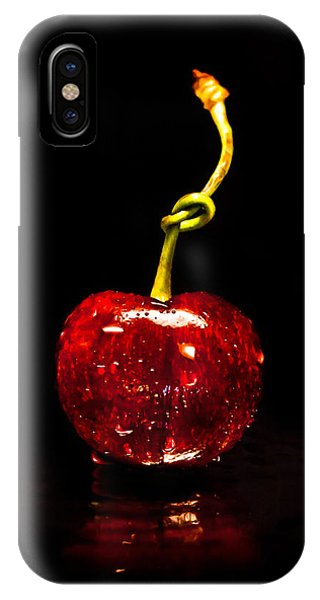 Lust iPhone Case - Tongue Tied by Maggie Terlecki