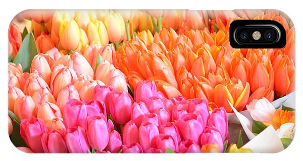 Tons Of Tulips IPhone Case