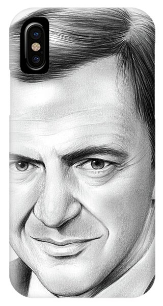 Sketch iPhone Case - Tony Randall by Greg Joens