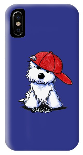 Too Cool For School IPhone Case
