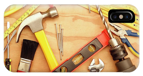 Tools Arrangement IPhone Case