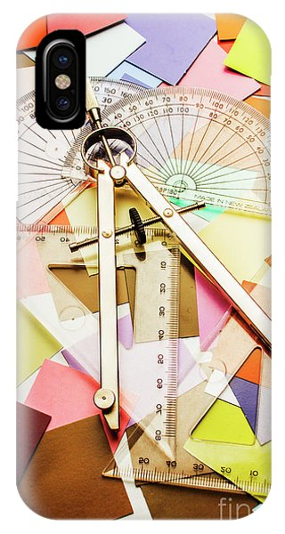 Working iPhone Case - Tools Of Architectural Design by Jorgo Photography - Wall Art Gallery