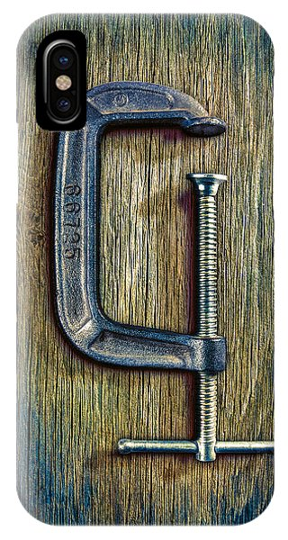 Woodworking iPhone Case - Tools On Wood 68 by YoPedro