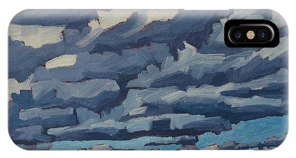 Top Lit Cumulus IPhone Case