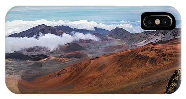 Top Of Haleakala Crater IPhone Case