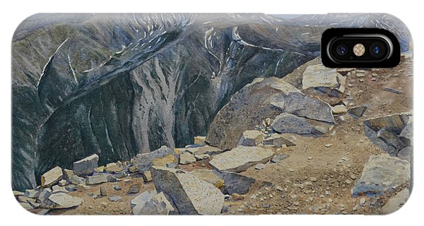 Top Of Mt. Princeton IPhone Case
